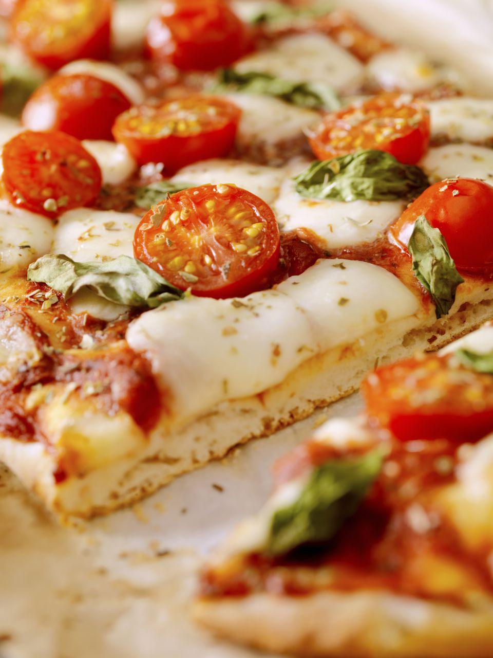 Receta de pizza cuadrada al estilo siciliano