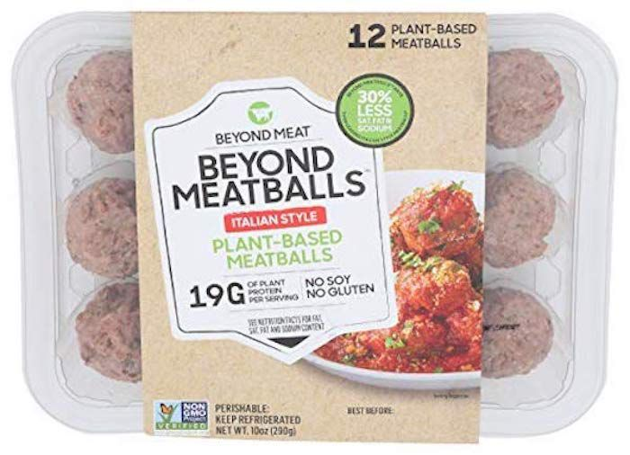 beyond meat italian meatballs