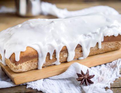 Vanilla Cookie Glaze on a pastry