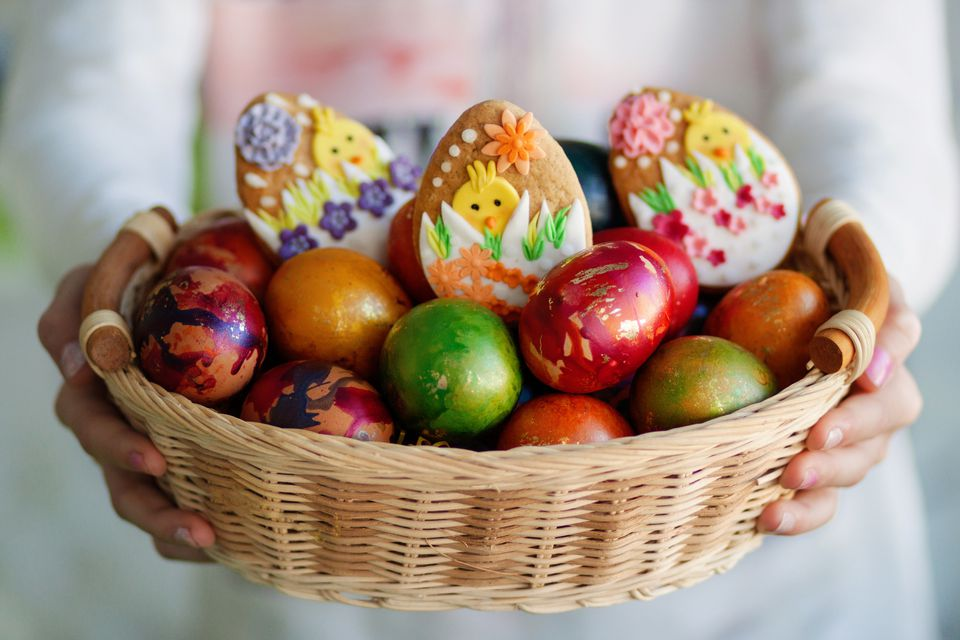 Bulgarian Easter eggs