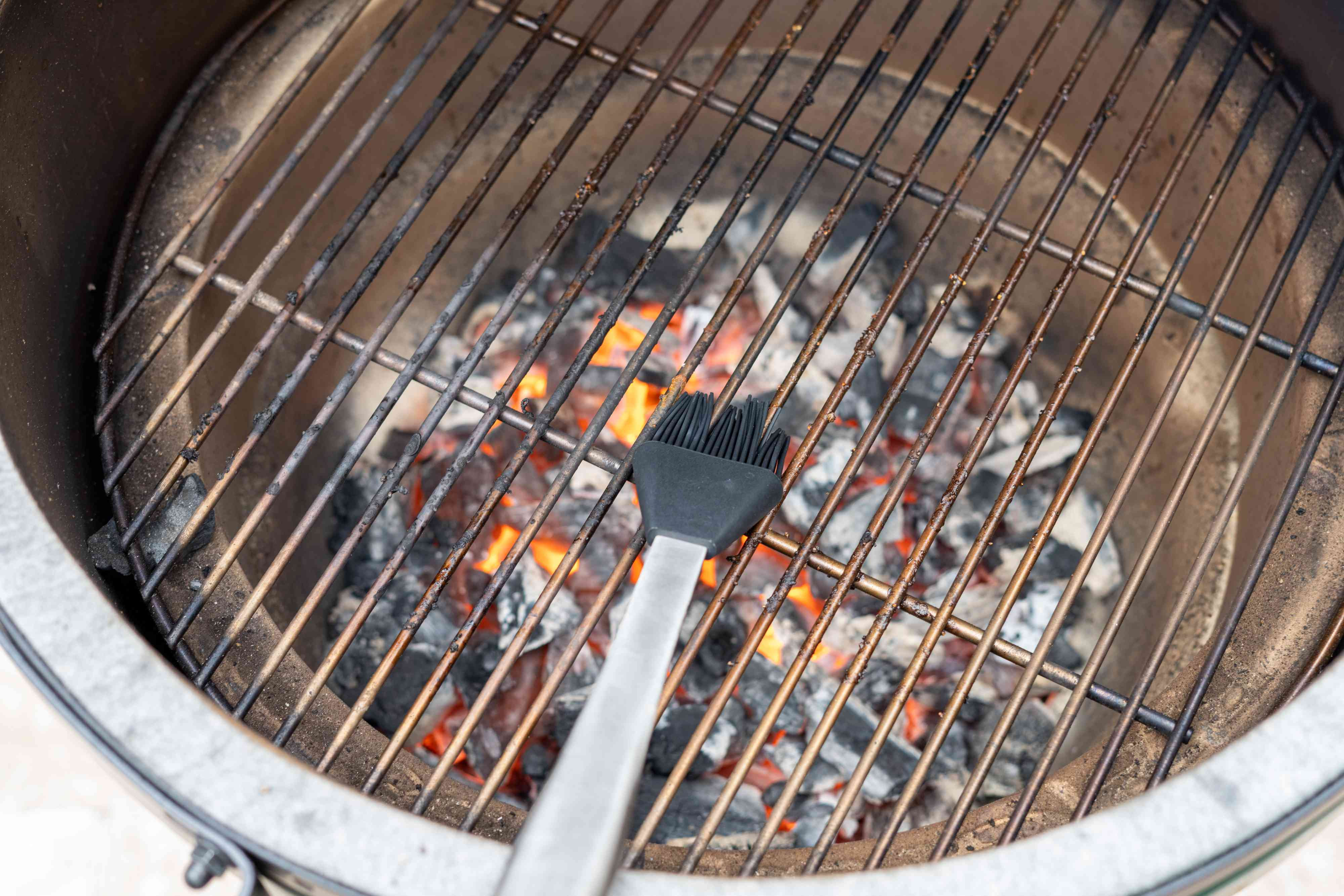 Oil the grill grate