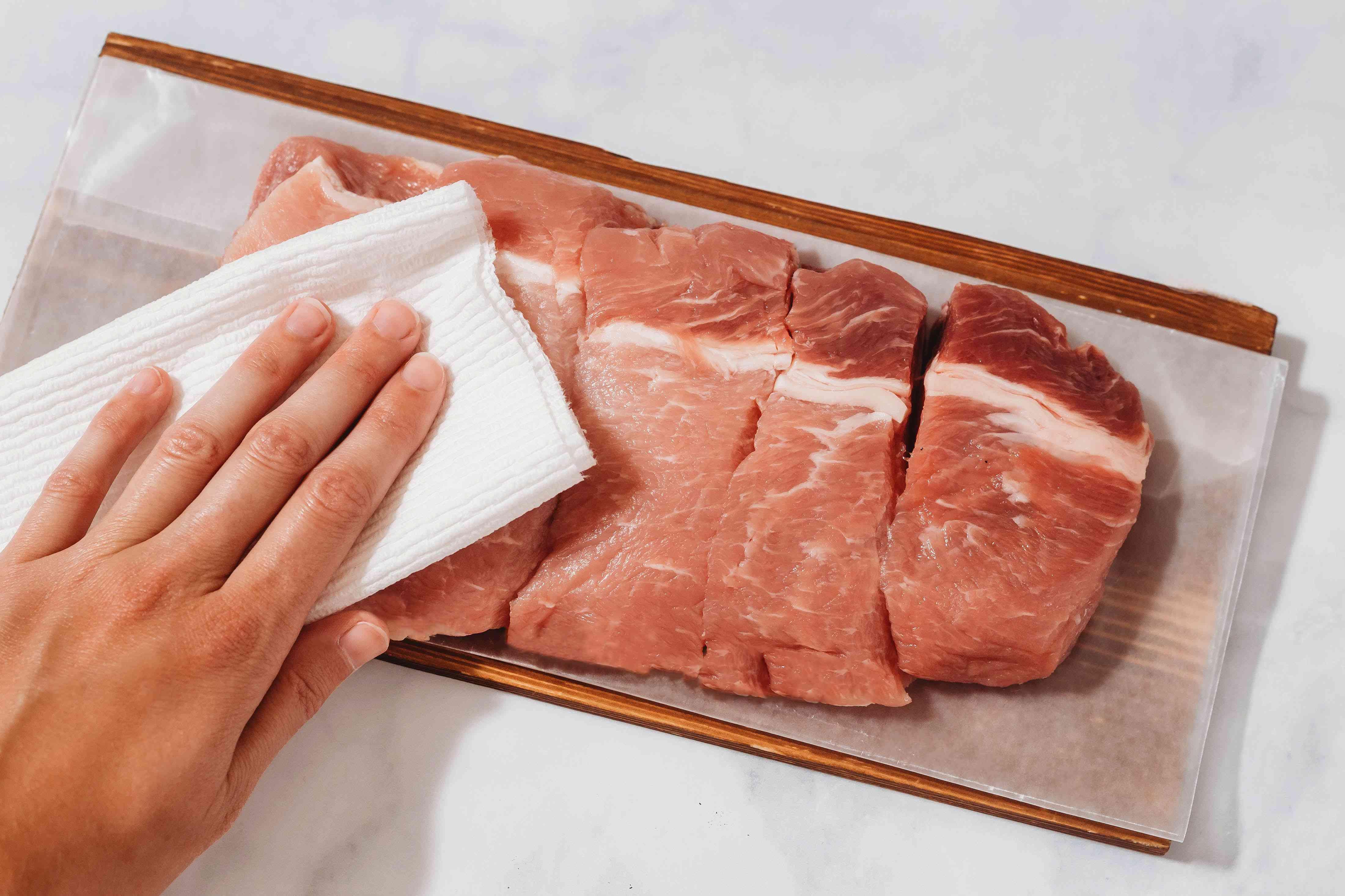 Trim meat