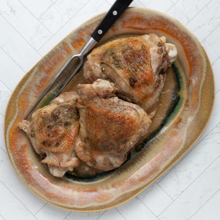 Roasted Turkey Thighs