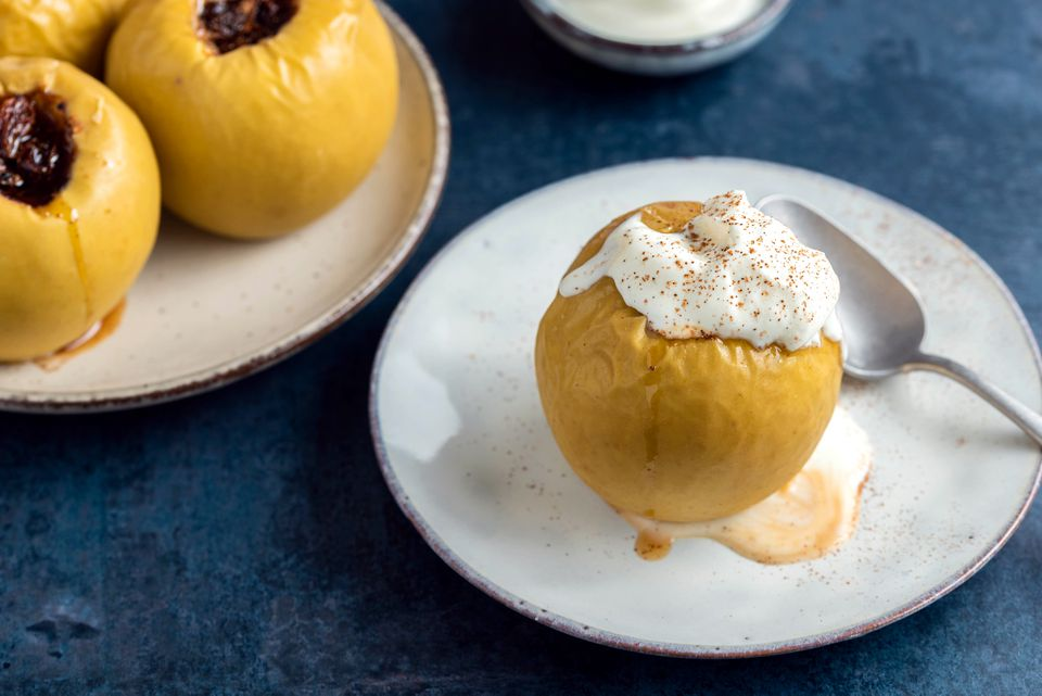 Low-Calorie Baked Apples