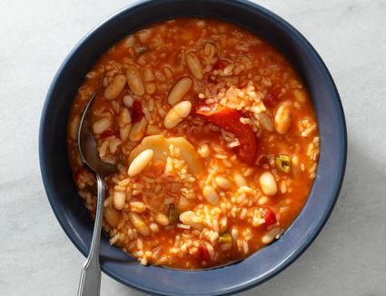 Spanish White Beans and Rice Recipe (Empedrado de Arroz)