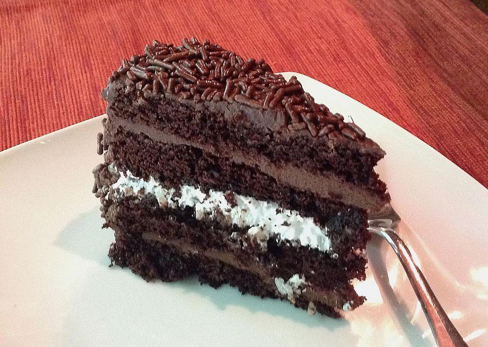Chocolate coconut cake - Bolo Prestígio