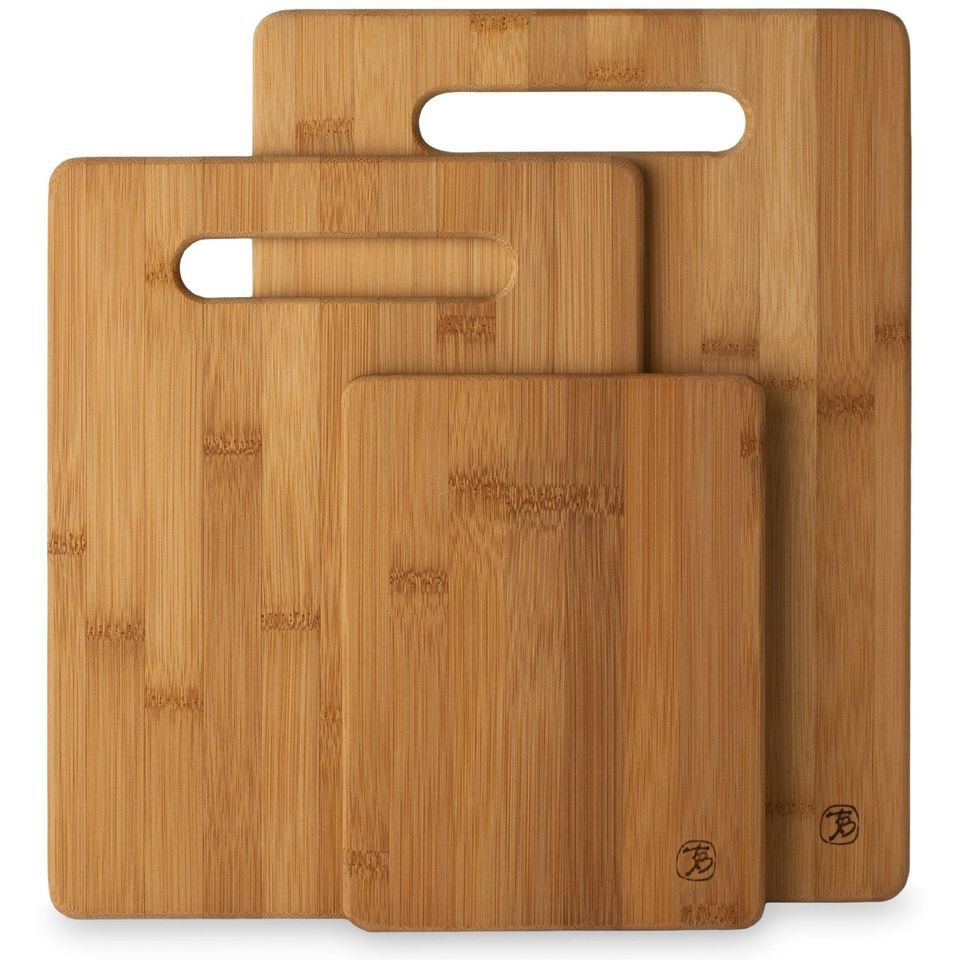 Best Bamboo Totally 3 Piece Cutting Board Set