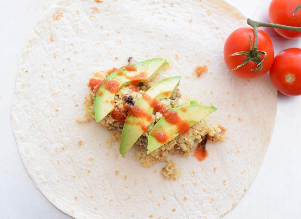 Crock Pot Breakfast Burritos