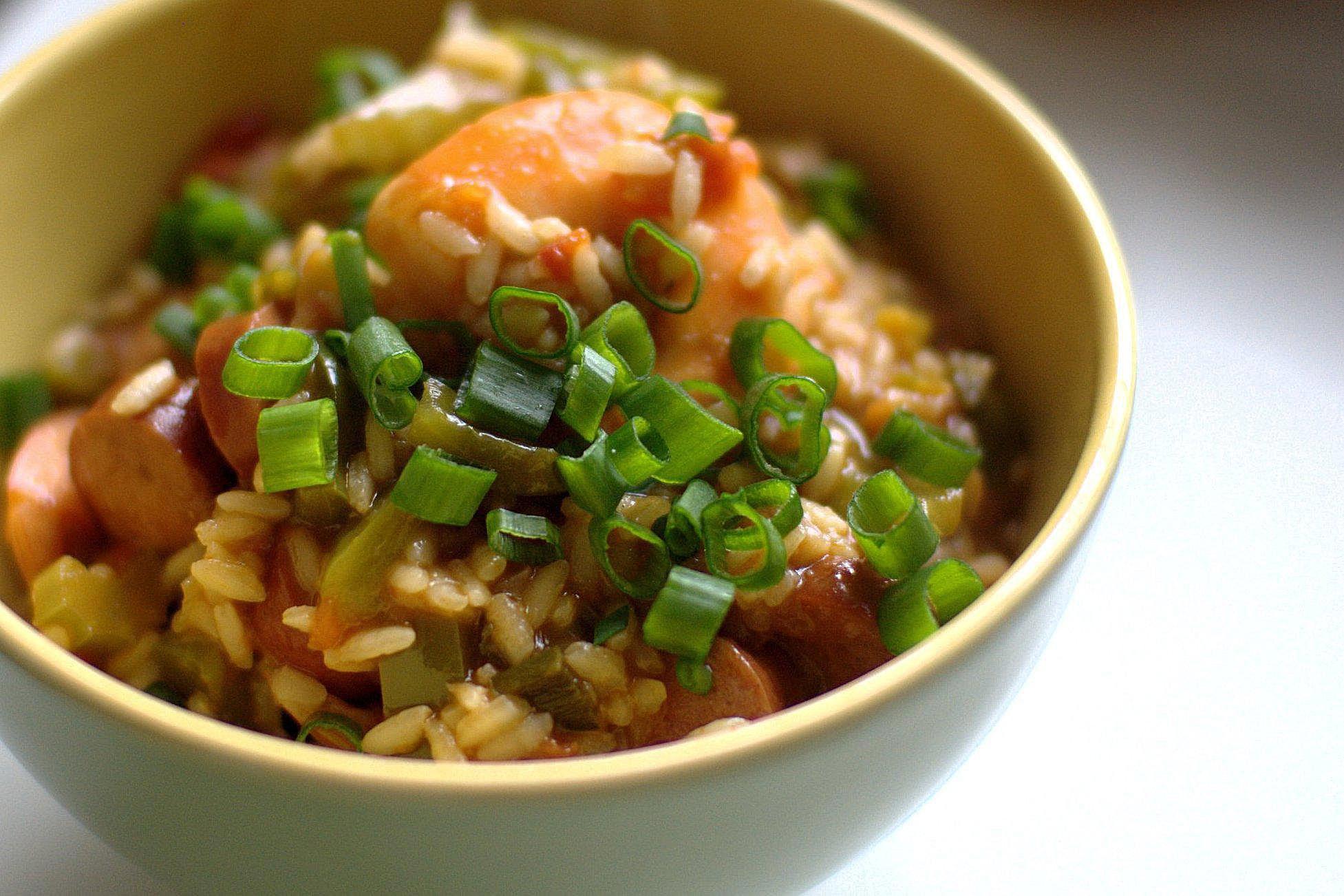 Sausage and Shrimp Jambalaya Recipe