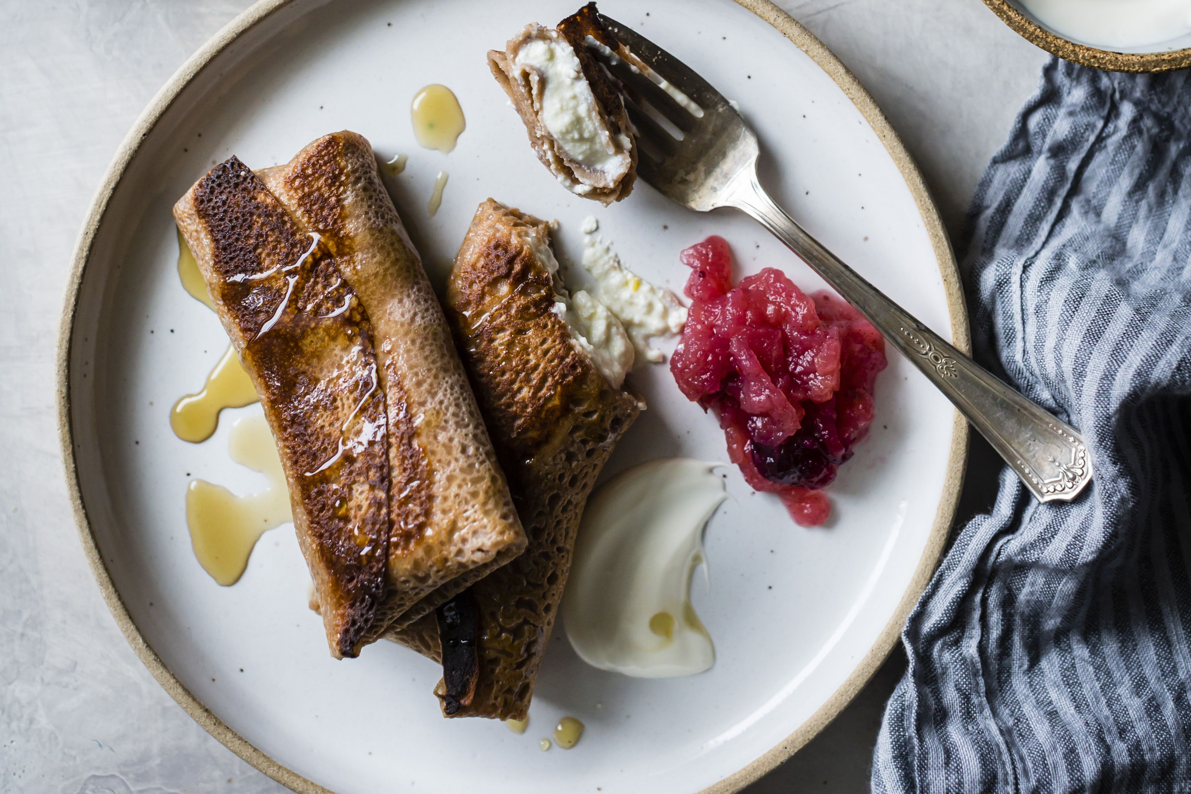 Cheese Blintzes Are Fantastic for Easter Brunch