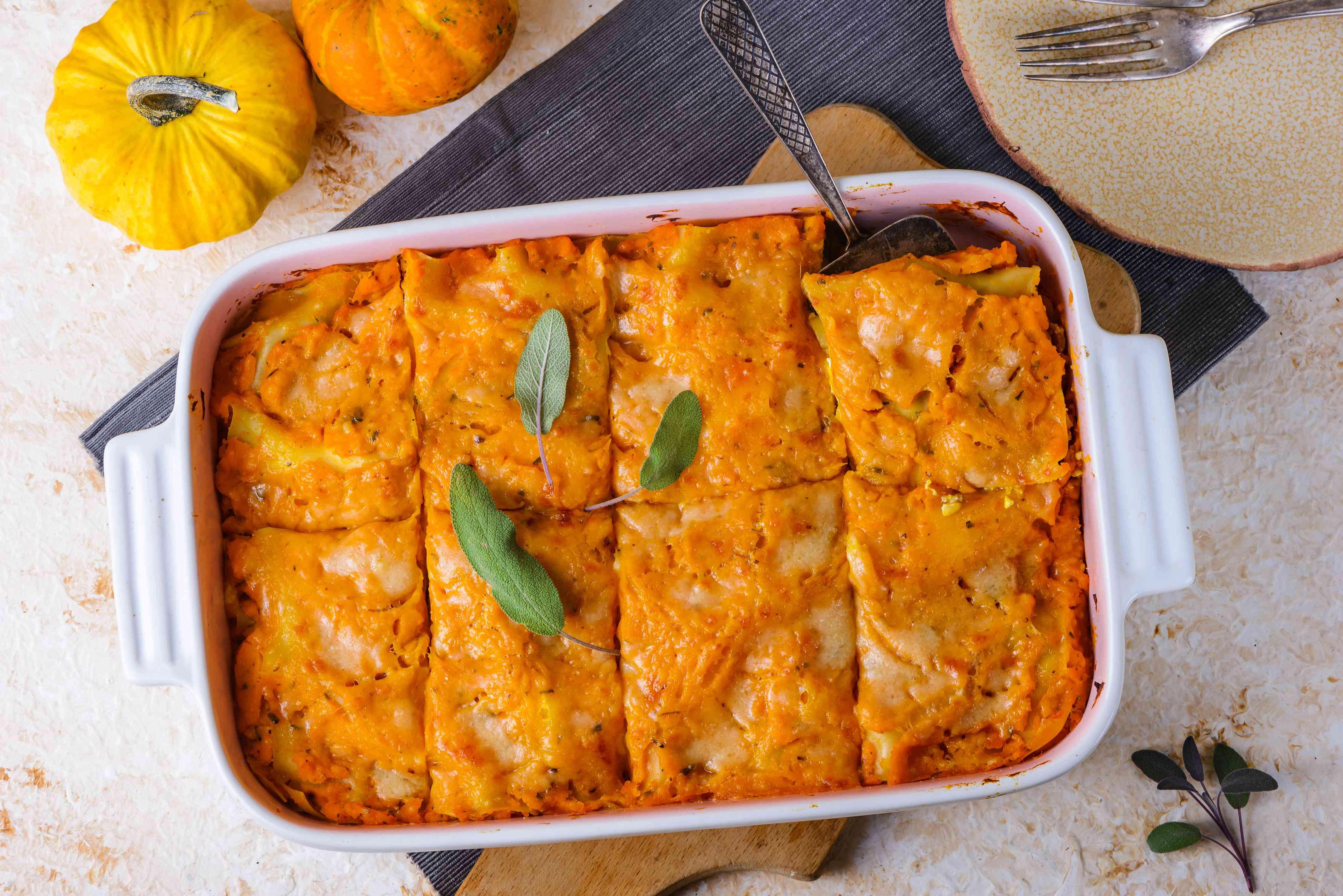 Slice lasagna