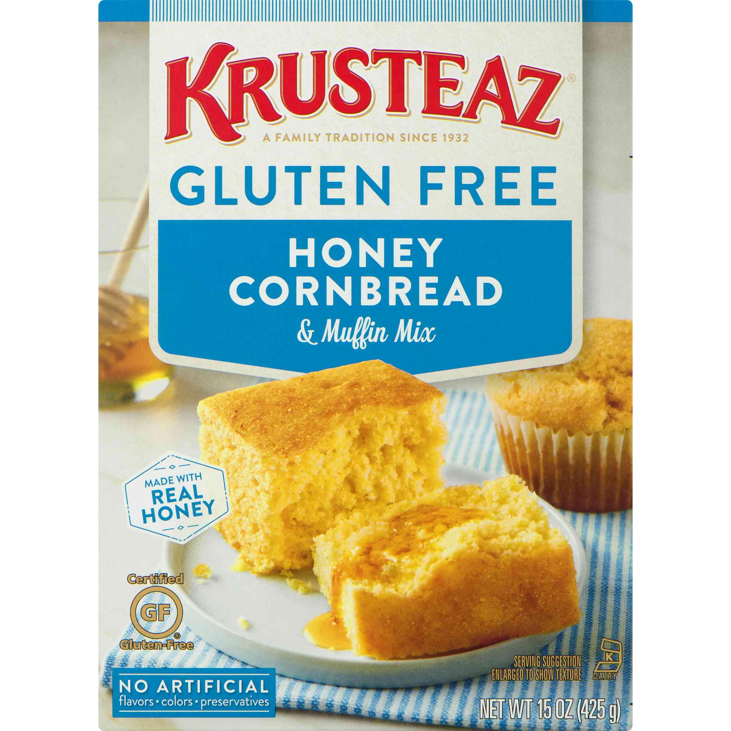 Krusteaz Gluten Free Honey Cornbread Mix