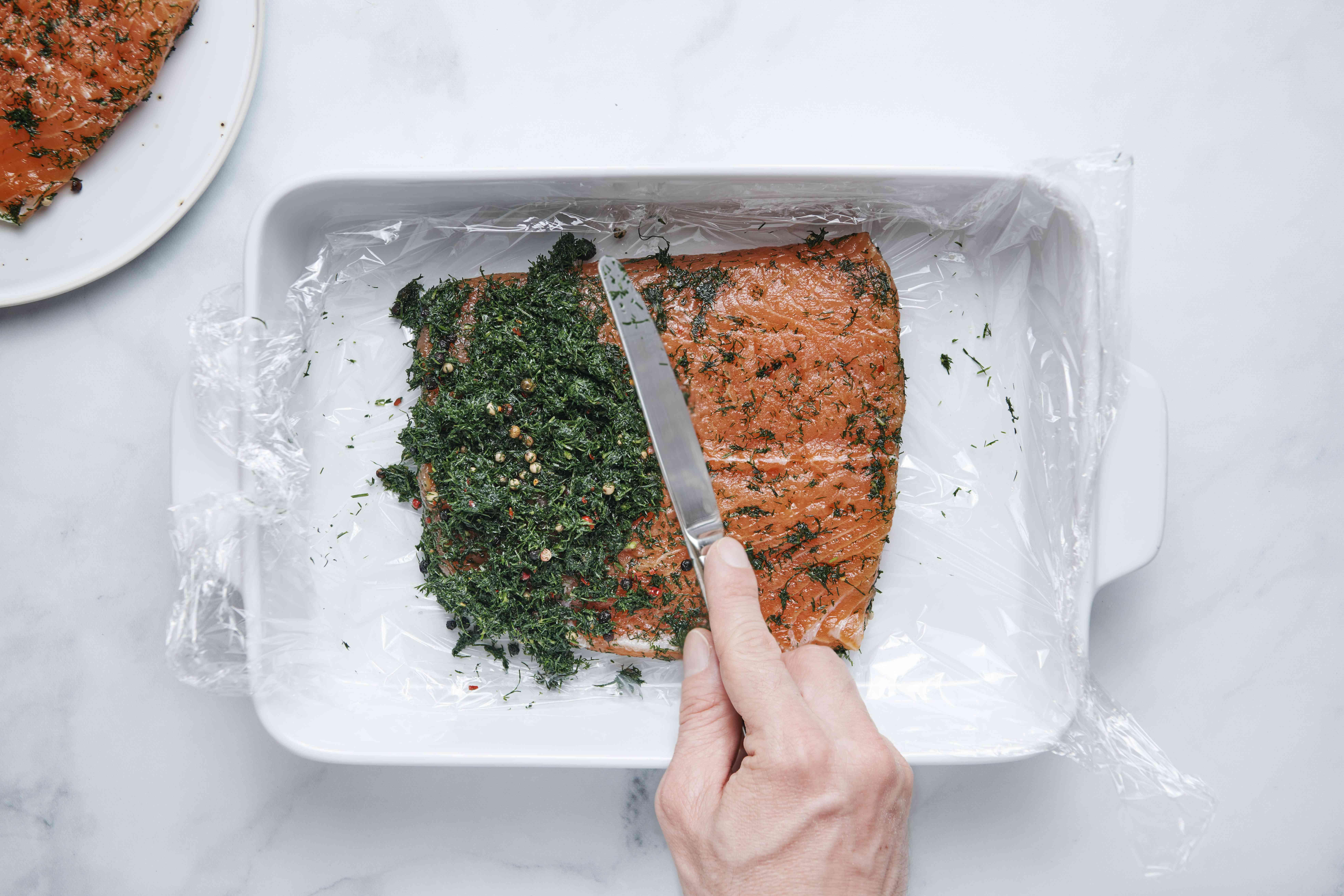 Classic Lox Recipe in a dish