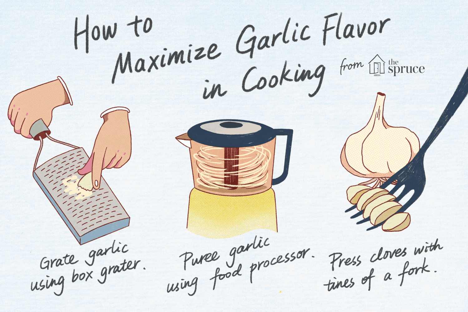 how to maximize garlic flavor in cooking