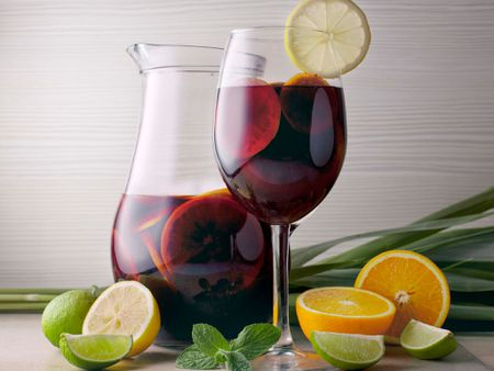 Basic Sangria With Red Wine Recipe