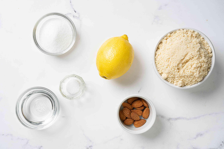 Keto Shortbread Cookies ingredients