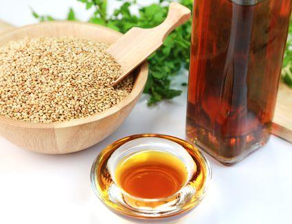 Sesame seeds and sesame oil