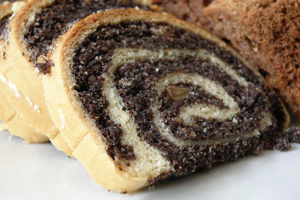 Receta de Rollo de semilla de amapola polaca sin gluten (Makowiec Bez Glutena)
