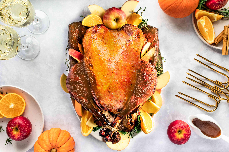 Apple juice turkey brine