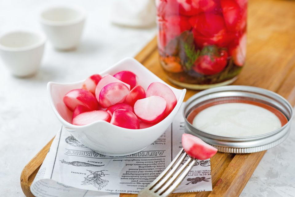 Quick radish pickle recipe
