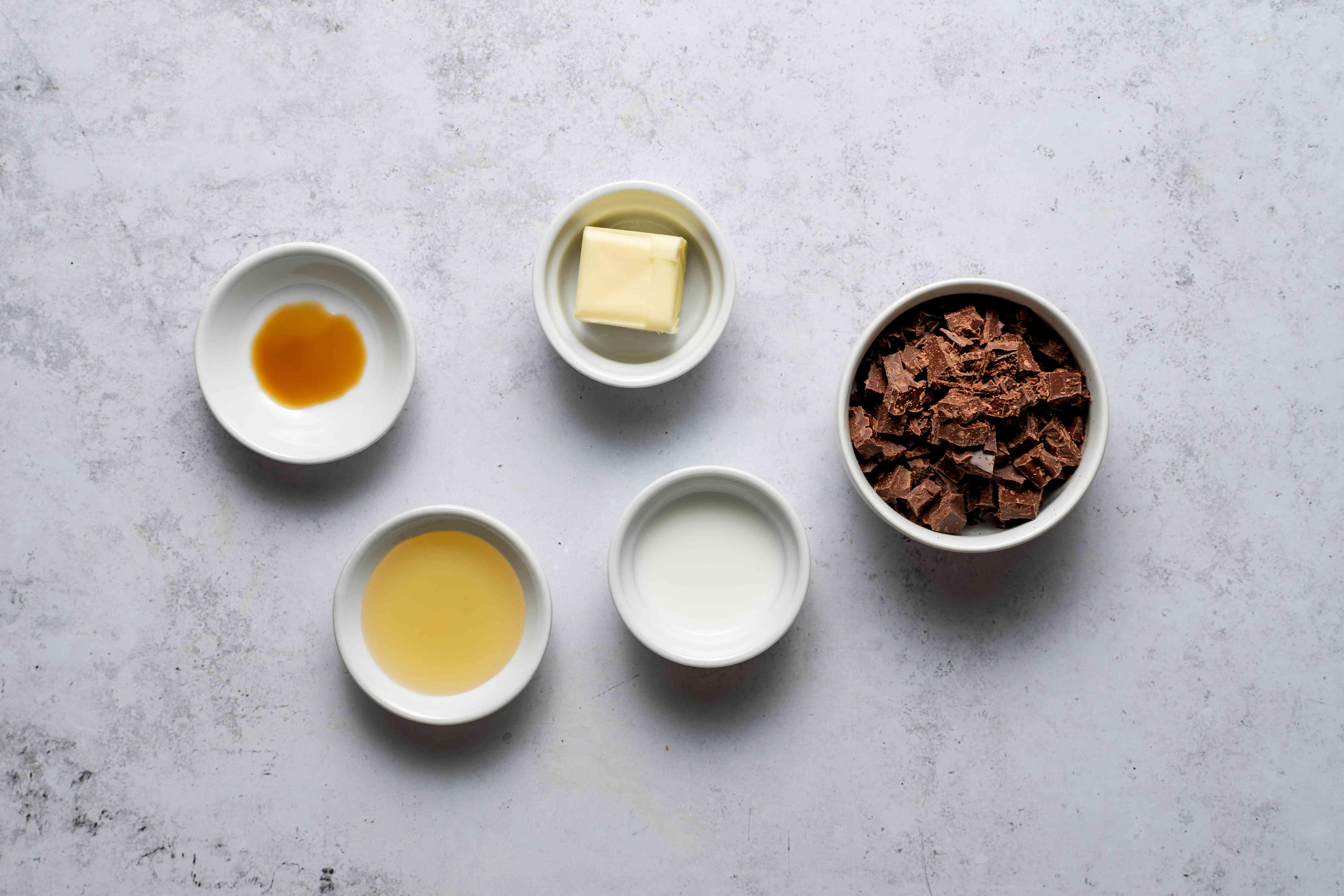 chocolate glaze ingredients