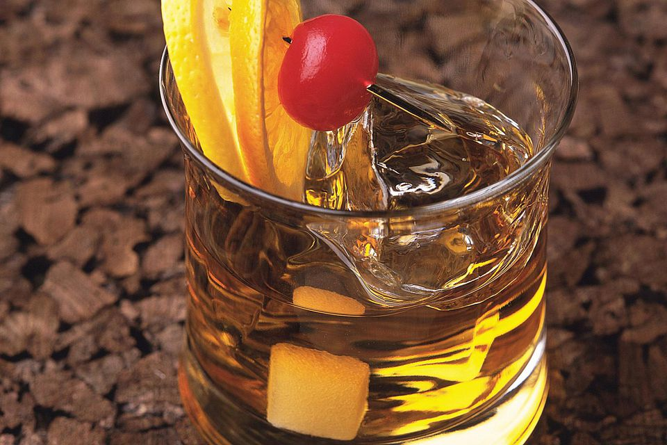 Brandy Old-Fashioned Cocktail Recipe