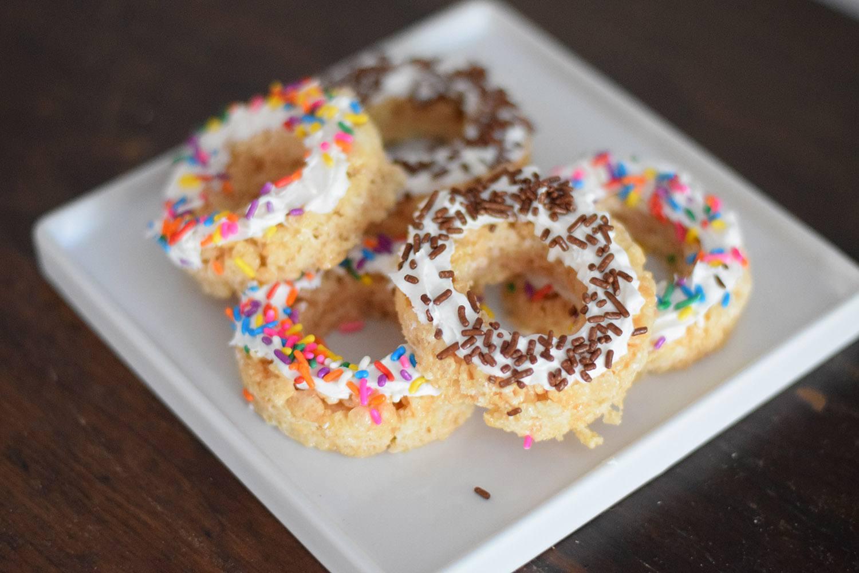 Rice Krispie Treats Doughnuts