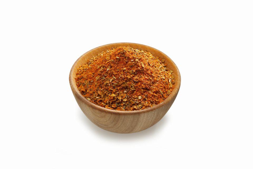Cajun Spices in Bowl