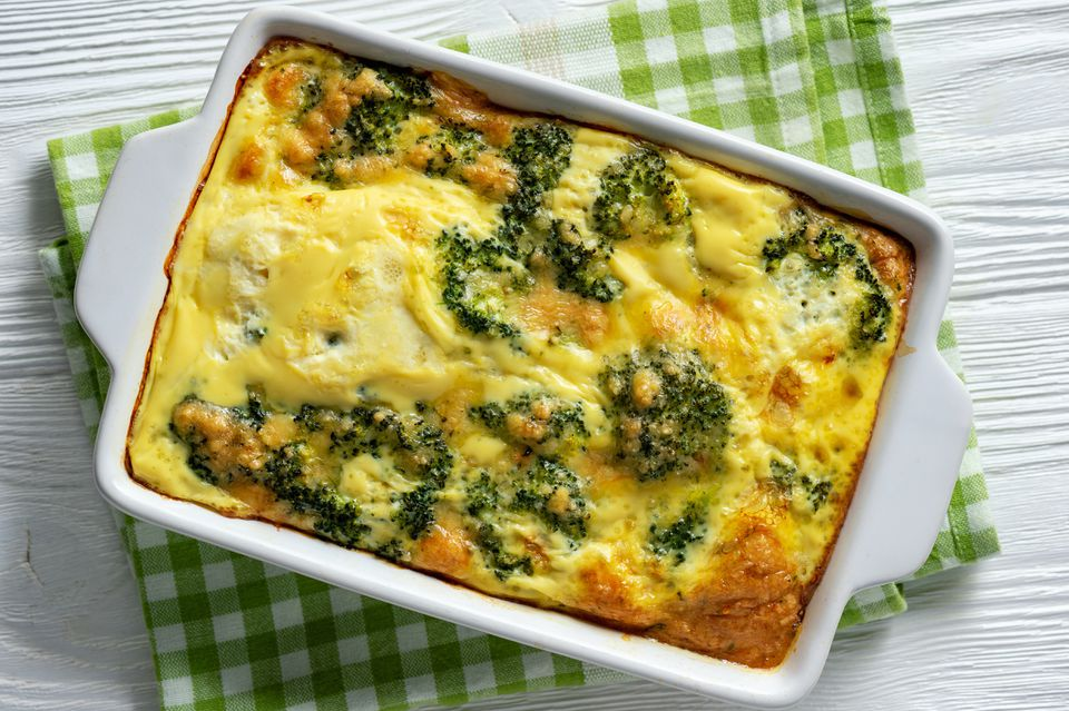 Broccoli Casserole With Cheese