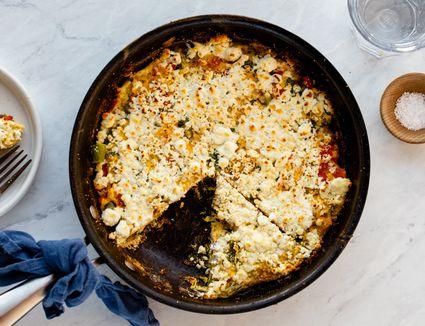 Super Quick Healthy Vegetable Frittata