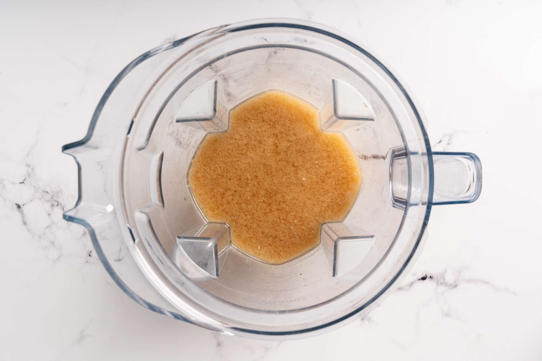 Add the Powerade, coconut milk, orange zest, lemon juice, salt, vanilla, and stevia into a blender