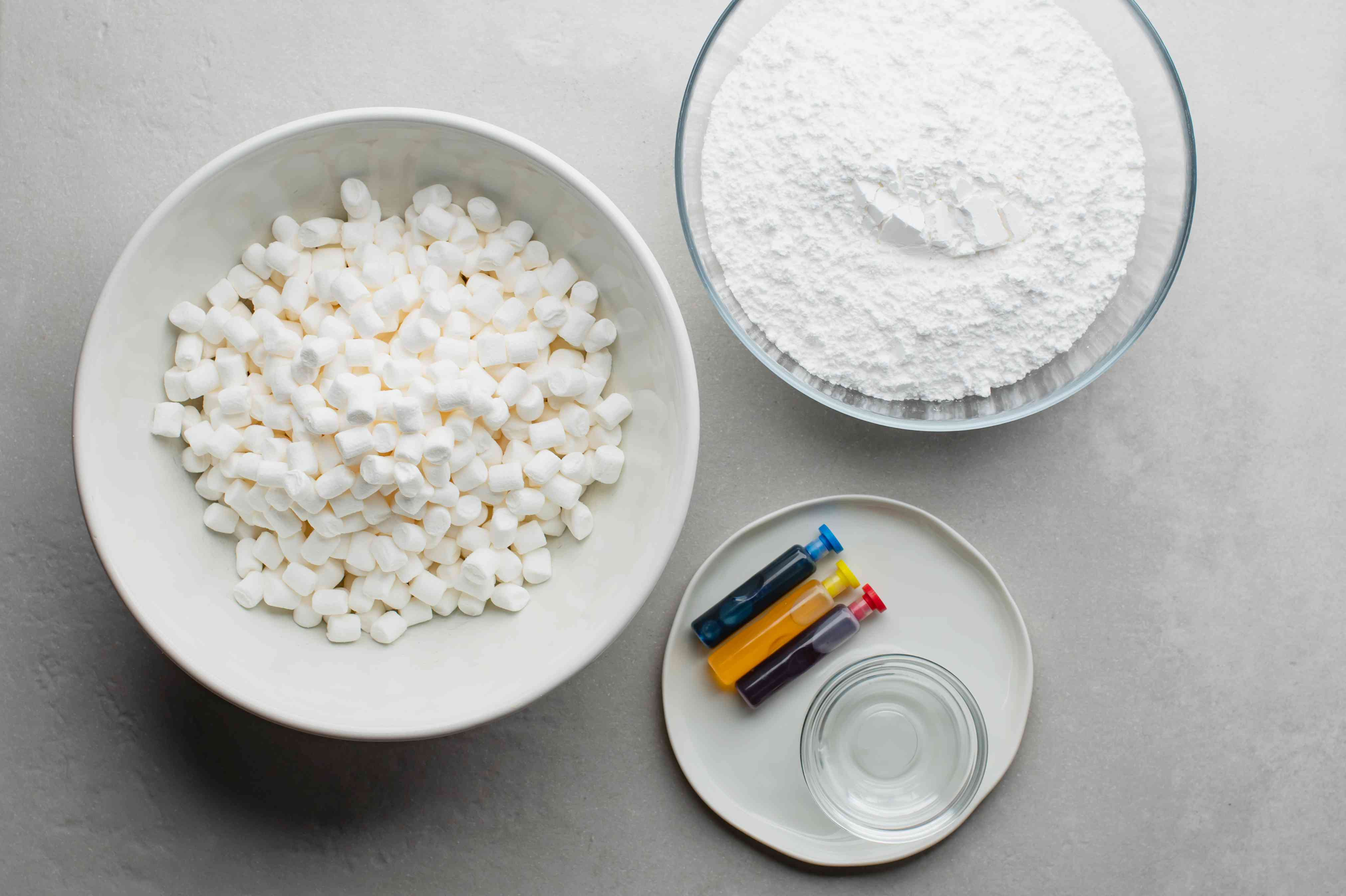 Ingredients for fondant