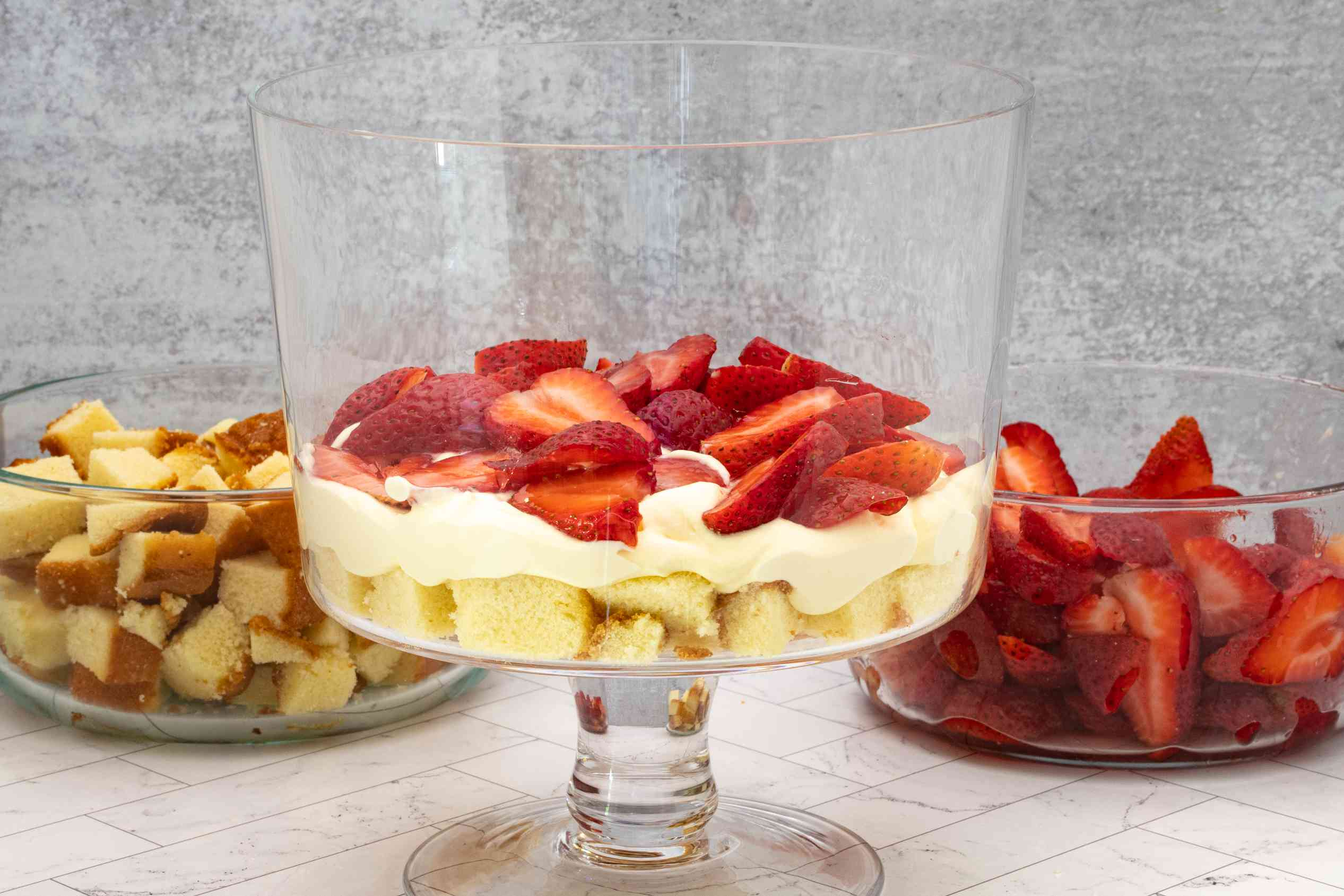 trifle preparation