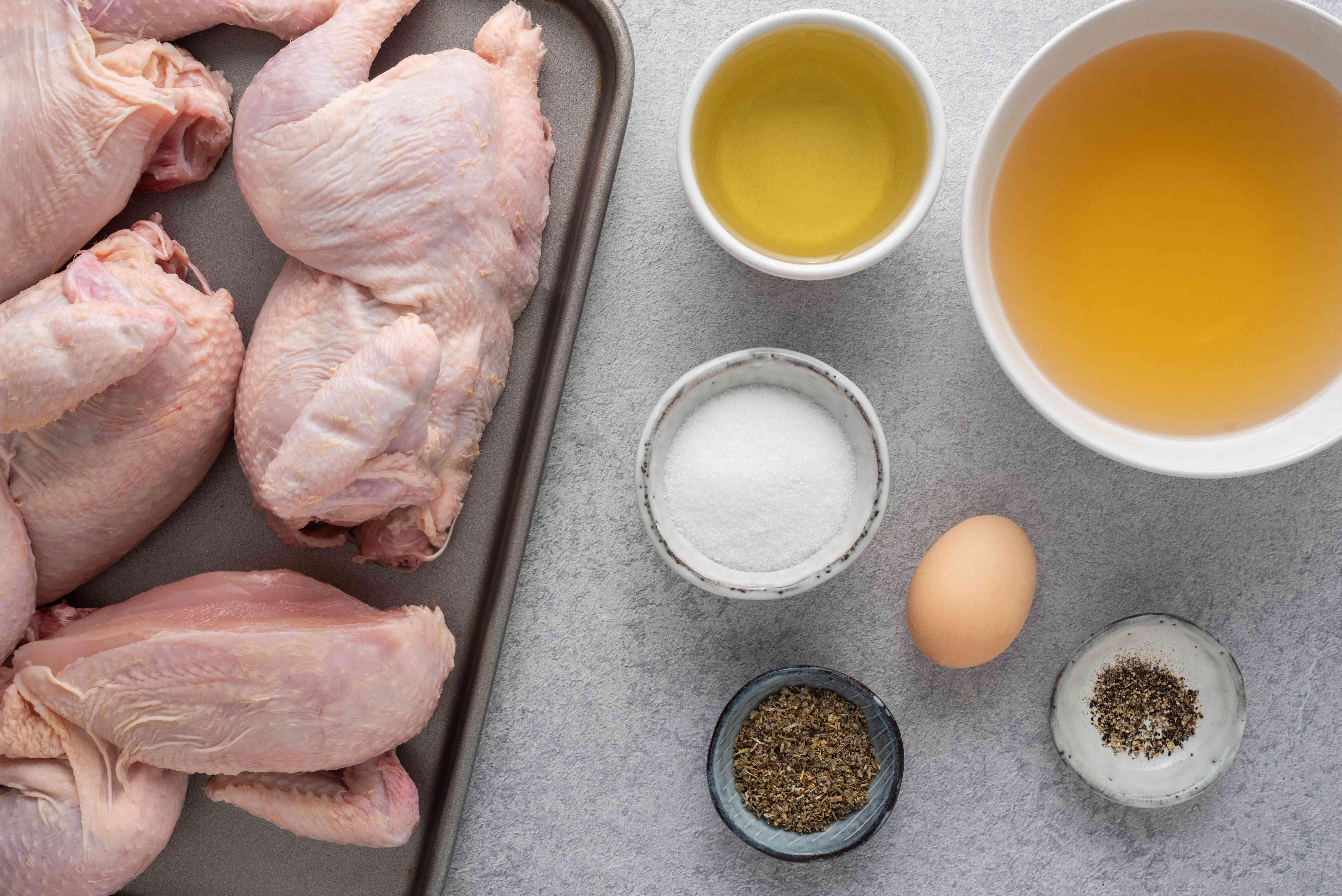 Dr. Baker's Original Cornell Chicken Recipe ingredients