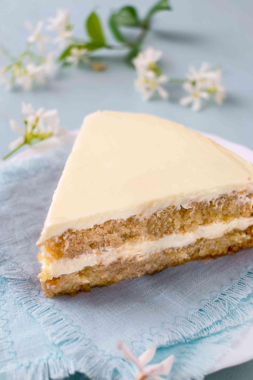 Basic Vegan White Cake