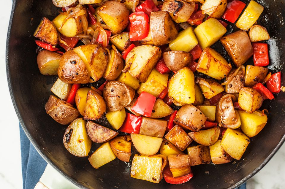 Skillet Fried Potatoes Recipe