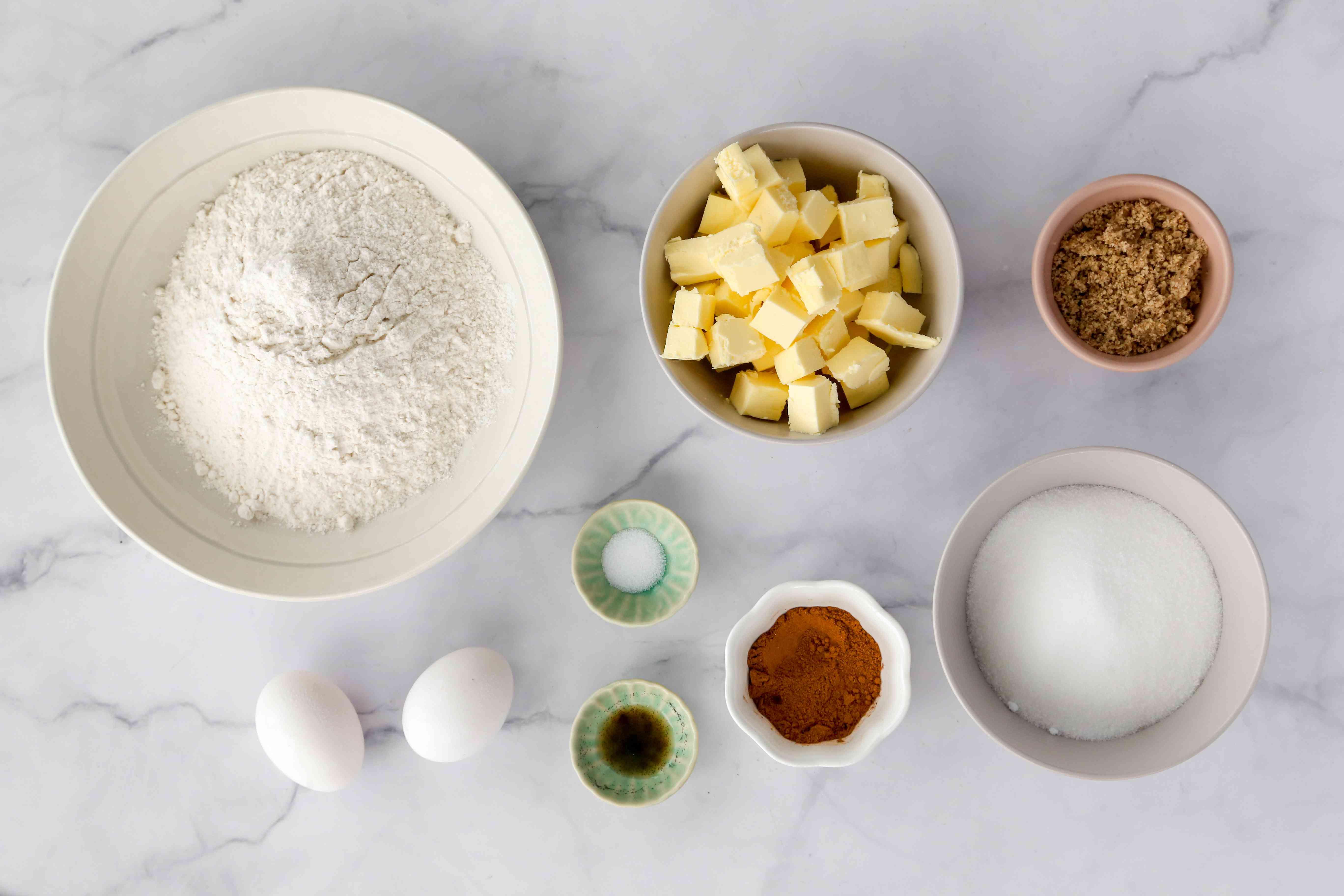 Cinnamon Ghoribas: Easy Cinnamon Cookie ingredients