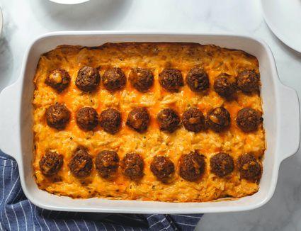 Meaty Hash Brown Potato Casserole