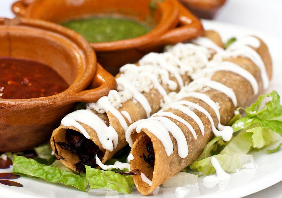 Taquitos or Flautas