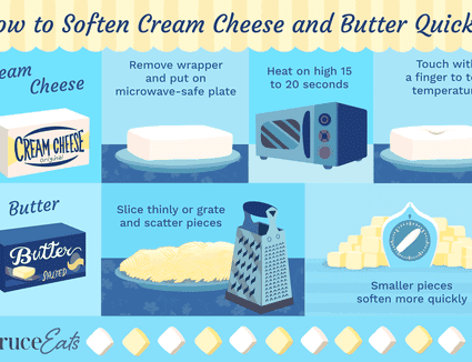 How to Soften Butter and Cream Cheese Quickly