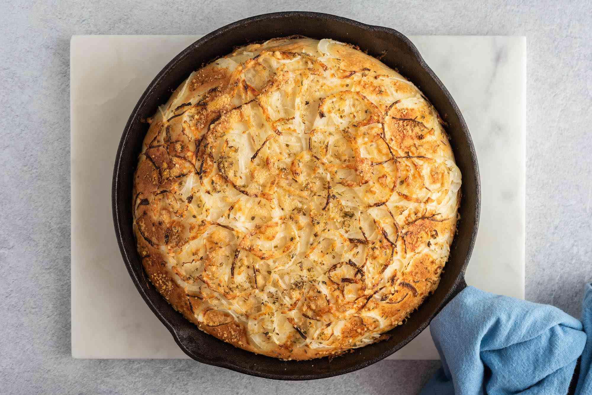 Baked fugazzeta