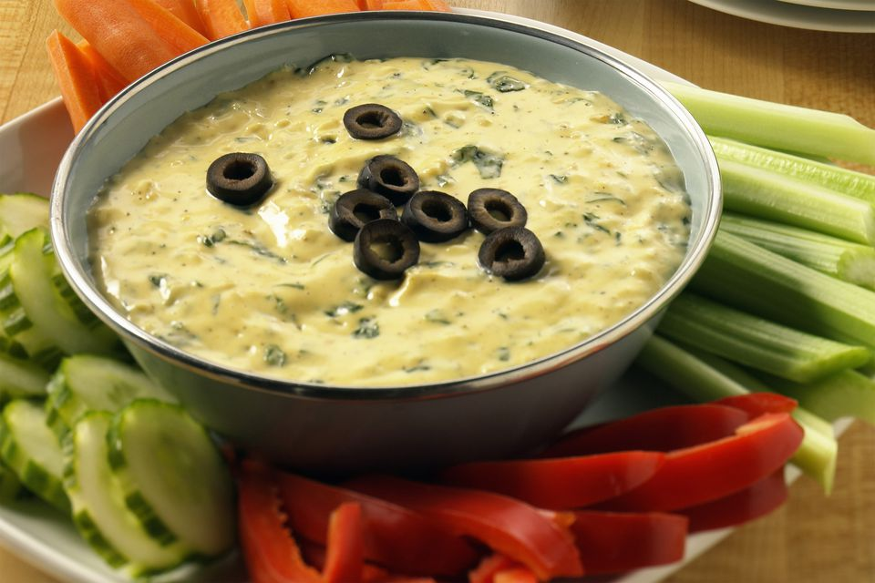 Dip With Ripe Olives