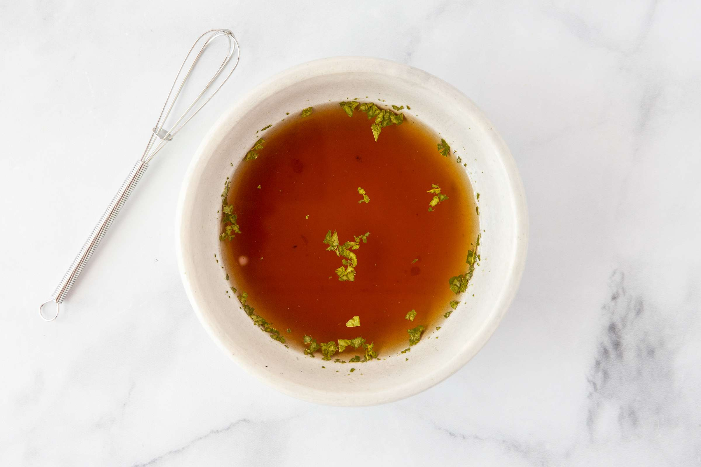Combine marinade ingredients in a bowl