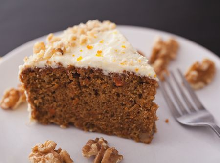 Rich And Tender Carrot Cake Recipe