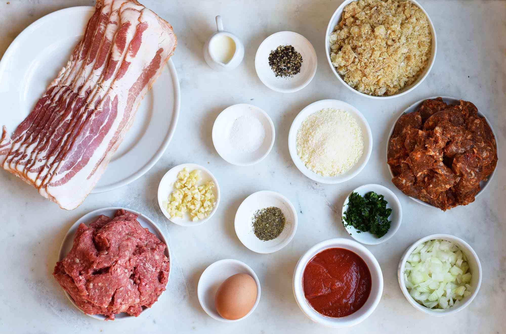 keto meatloaf ingredients
