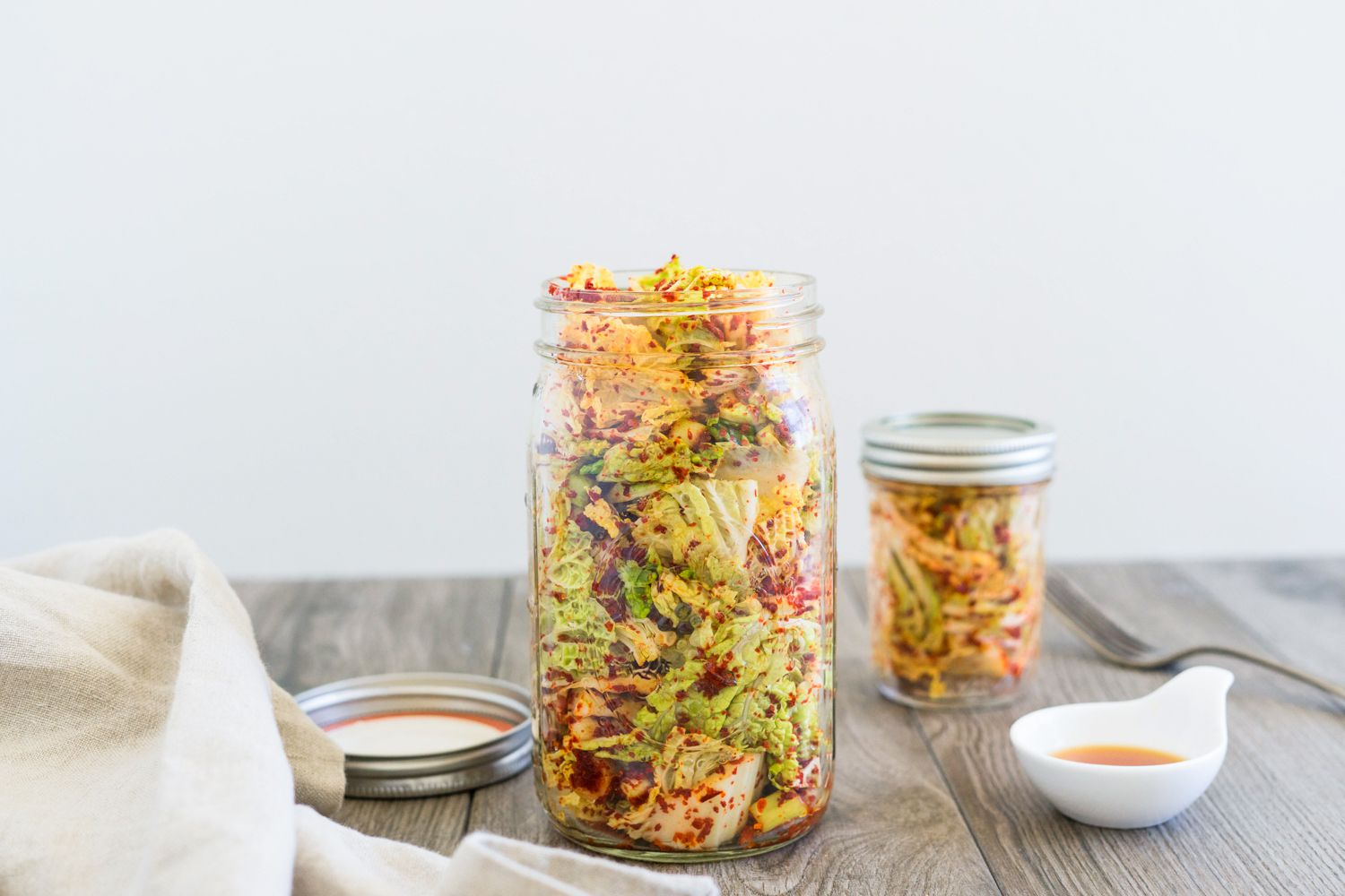 Korean Spicy Pickled Cabbage