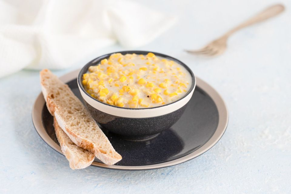 Homemade cream-style corn recipe