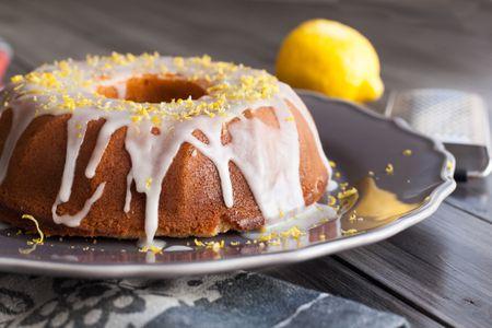 Lemon Bundt Cake With Glaze Recipe