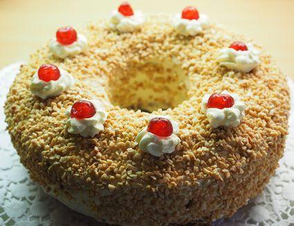 Frankfurter Kranz cake