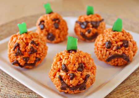 pumpkin rice crispy treats recipe